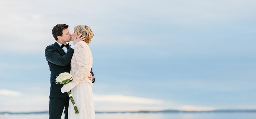 Erica & Johan - Nyårsbröllop