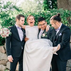 Marina & Bruno - Bröllop i Danmarks kyrka
