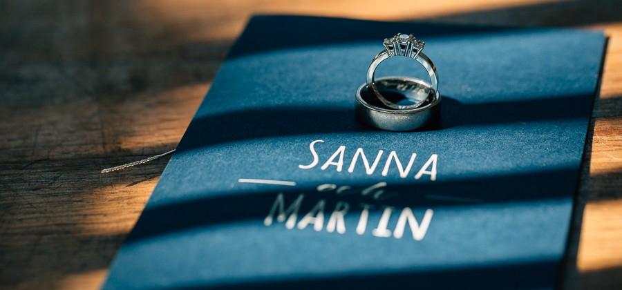 Sanna & Martin - Skärgårdsbröllop på Lidö