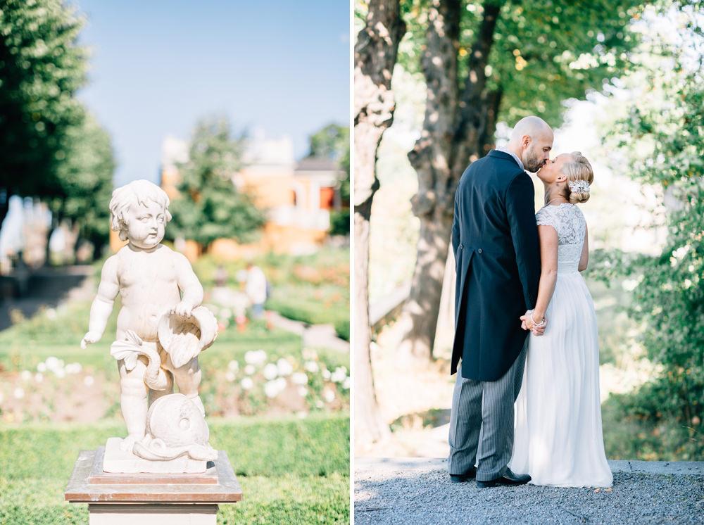 Bröllop på Oskarsterrassen på Skansen i Stockholm